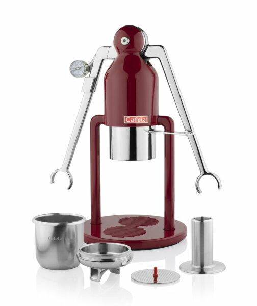 CAFELAT | Robot BARISTA | Red